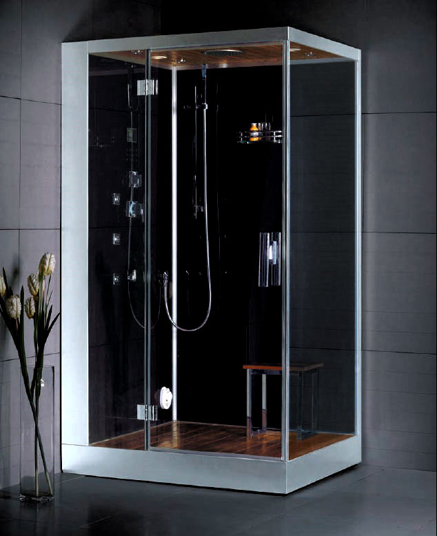 Glass Steam Shower Enclosure For A Luxury Bathroom Dz959f8 L R