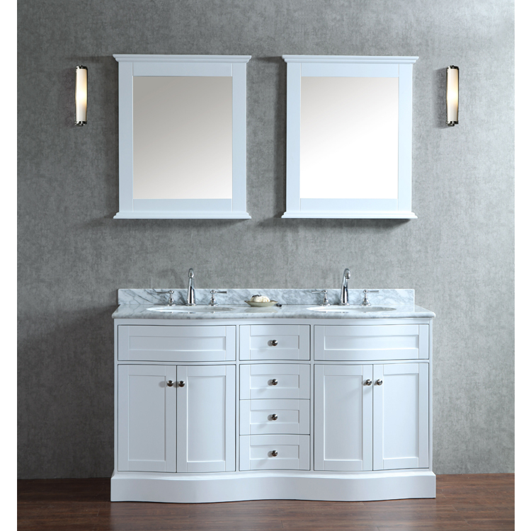 Ariel By Seacliff Montauk 60 Double Sink Bathroom Vanity Set Gm Online Store