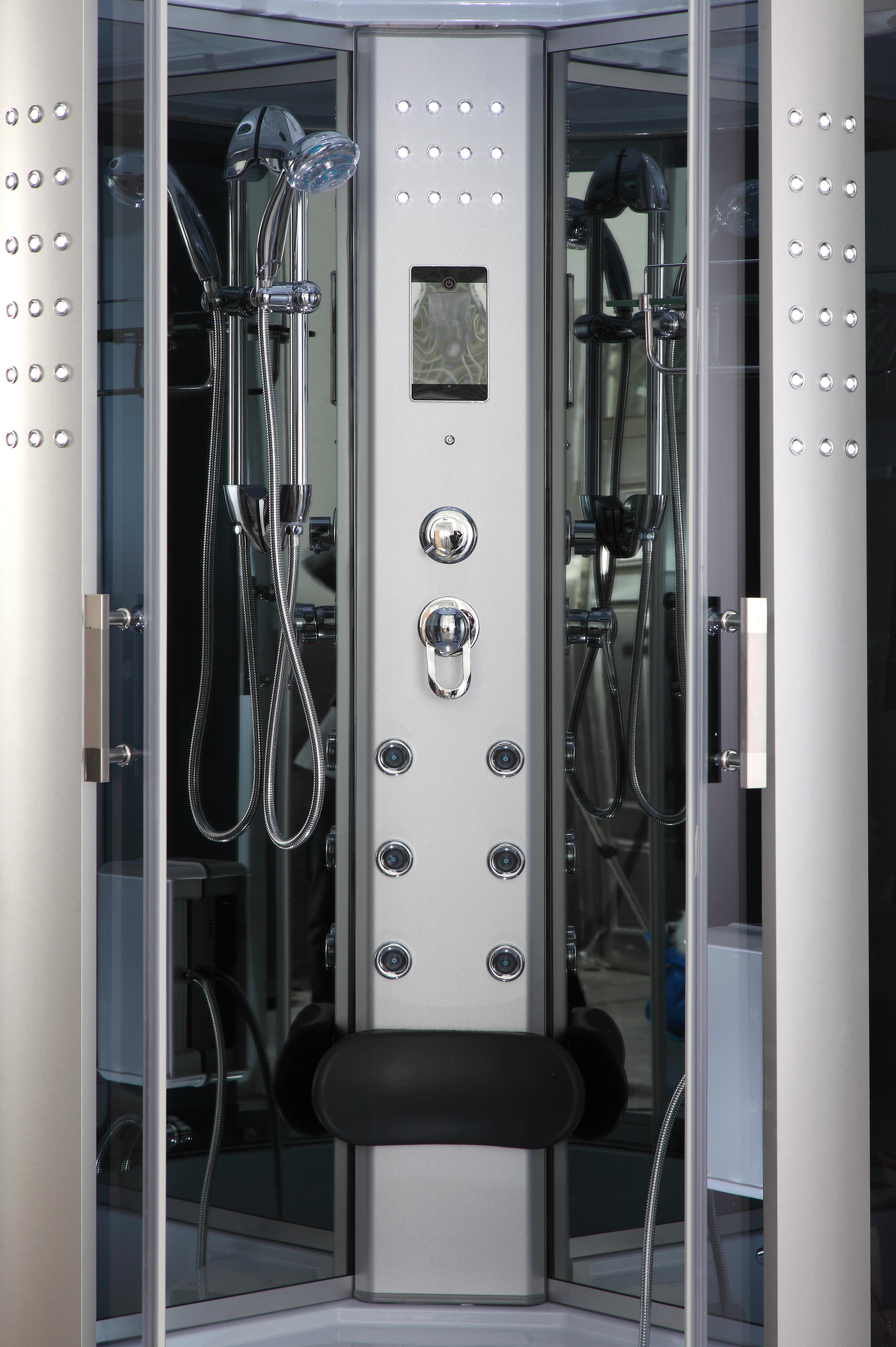 1001now Gt002 As Corner Steam Shower Enclosure 41 189 Quot X 41