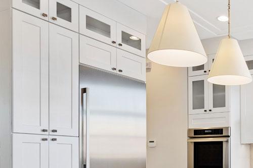 Kitchen Cabinets color White